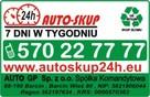 AUTO GP Kasacja Skup Złomowanie Pojazdów