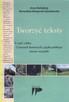 Tworzyć teksty I część cyklu - O pracach domowych z języka.. - 1