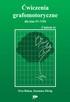 Ćwiczenia grafomotoryczne dla klas IV-VIII.    GRAFOMOTORYKA - 8