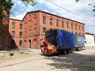 Transport usługi transportowe tir naczepa z wózkiem widłowym