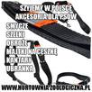 Legowisko dla psa nowe czarne mocne wodoodporne 100x70x14cm - 3