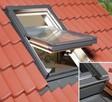 Okno okna dachowe o wymiarze 55X78 cm komplet - 4