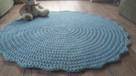 Wyjątkowy dywan szydełkowy