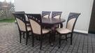 Krzesło tapicerowane stylowe modne do salonu producent - 1