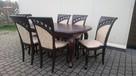 Krzesło tapicerowane stylowe modne do salonu producent - 2