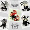 Zaprojektuj wielofunkcyjny wózek dziecięcy 3w1 BAMBI