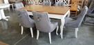 Krzesło pikowane z kołatką i z pinezkami mocne Nowe GLAMOUR - 3