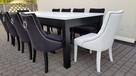 Krzesło pikowane z kołatką i z pinezkami mocne Nowe GLAMOUR - 4