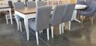Krzesło nowoczesne tapicerowane do salonu jadalni restauracj - 7