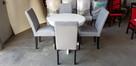 Krzesło nowoczesne tapicerowane do salonu jadalni restauracj - 5