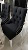 Krzesło pikowane z kołatką i z pinezkami mocne Nowe GLAMOUR - 7