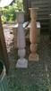 Dekoracje świeczniki toczone drewniane wyroby Rękodzieło - 8