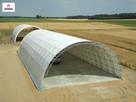 hala tunelowa łukowa magazyn wiata garaż konstrukcja 10x24