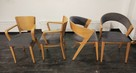 Krzesła do Restauracji Kawiarni Biura Domu FAMEG Jakość - 1