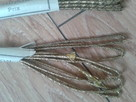 sznurek złocony motki po 2 m, i po 1.5 m.