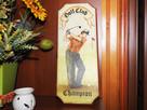 Obraz na drewnie Golf Club Champion