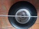 Domek holenderski koło kółko oś fi35 2750kg 6.00-9 - 3