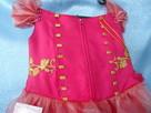 Elegancka sukienka dla dziewczynek. Nowa. Rozmiar 128 - 4