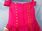 Elegancka sukienka dla dziewczynek. Nowa. Rozmiar 116 - 3