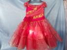 Elegancka sukienka dla dziewczynek. Nowa. Rozmiar 128 - 1