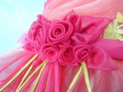 Elegancka sukienka dla dziewczynek. Nowa. Rozmiar 128 - 2