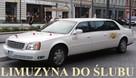 Limuzyna do ślubu biały Cadillac