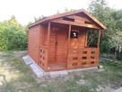 Domek ogrodowy , działkowy z tarasem 5 na 3 m
