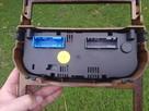 Panel konsola klimatronik od OPEL ASTRA G nadruk drewno - 7