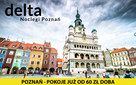 Delta Noclegi Poznań - Ceny od 60 zł doba/osoba - Rezerwuj