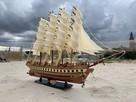 Drewniana Replika statku żaglowca France II - 6