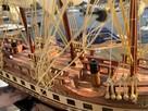 Drewniana Replika statku żaglowca France II - 5