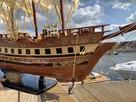 Drewniana Replika statku żaglowca France II - 7