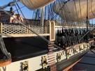 Drewniana Replika statku USS Constitution - 4