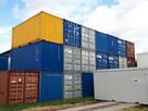 kontenery morskie - używane-po przeglądach - 1