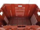 POJEMNIK skrzynka kuweta magazynowy transportowy-DUŻY-80x60x - 4