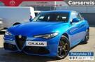 Alfa Romeo Giulia Veloce 2.0 280 KM  Misano Blue / Brązowa  skóra natura   Carplay - 1