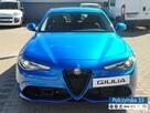 Alfa Romeo Giulia Veloce 2.0 280 KM  Misano Blue / Brązowa  skóra natura   Carplay - 3