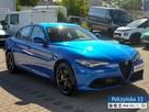 Alfa Romeo Giulia Veloce 2.0 280 KM  Misano Blue / Brązowa  skóra natura   Carplay - 4