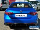 Alfa Romeo Giulia Veloce 2.0 280 KM  Misano Blue / Brązowa  skóra natura   Carplay - 7
