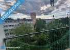 2 pokoje 39m2, 4 piętro Łódź ul. Broniewskiego BALKON