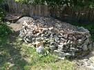 Gruz mieszany kamienie, cegły tynki kilka ton oddam za darmo