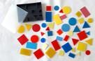 Figury logiczne - pomoc dydaktyczna - zabawka dla dzieci