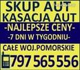 Skup Aut Złomowanie Kasacja t.797565556 Gdańsk, Pruszcz Gdańs