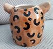 Gepard doniczka głowa kota osłonka koci pyszczek - 7