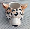 Gepard doniczka głowa kota osłonka koci pyszczek - 3