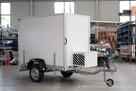 przyczepa chłodnia izoterma FT1 kontener furgon cargo