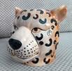Gepard doniczka głowa kota osłonka koci pyszczek - 5
