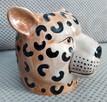 Gepard doniczka głowa kota osłonka koci pyszczek - 6