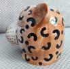 Gepard doniczka głowa kota osłonka koci pyszczek - 2