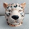 Gepard doniczka głowa kota osłonka koci pyszczek - 1
